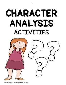 Literary criticism character analysis